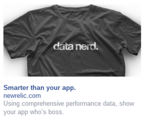 new relic facebook ad