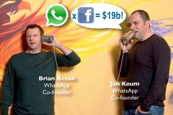 WhatsApp is bought by Facebook